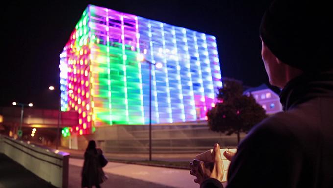 Rubik's cube interactif mobilactif