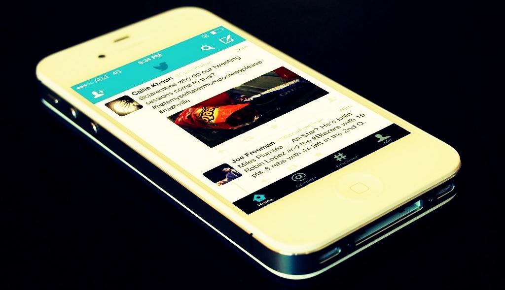 twitter smartphone mobilactif